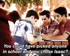 "Watch ""I mean, come on (y/n). Isaac?!"" Imagine Blog of Everything GIF on Gfycat. Discover more imagine, isaac lahey, isaac lahey imagine, not my gif, stiles stilinski, stiles stilinski imagine, teen wolf, teen wolf imagine, tw, tw imagine GIFs on Gfycat"