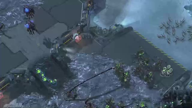 Watch and share Sc2replaystats Balance Map KOTH -- Scarlett Vs Bly, 6th Series GIFs by TheSkunk on Gfycat