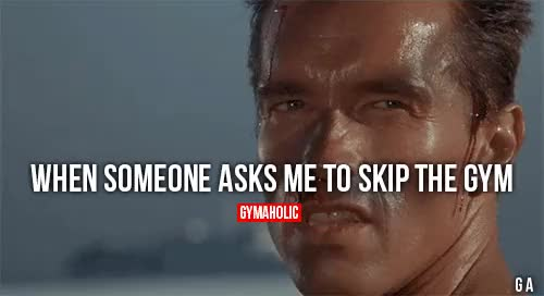 Watch and share Skip The Gym GIFs and Motivation GIFs on Gfycat