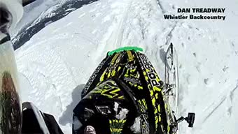 Watch and share Snowmobiling POV: 100-foot Drop : Gifs GIFs on Gfycat