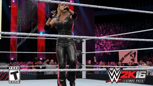 wwegames, First look at Trish Stratus in WWE 2k16 (reddit) GIFs