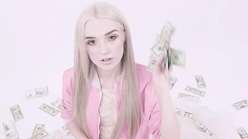 dollar bills, money, poppy GIFs