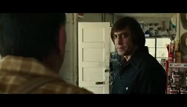 Watch and share No Country For Old Men Coin Toss  HD GIFs on Gfycat
