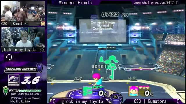 Watch and share SG At GU 17.11 WF - Glock In My Toyota (Game And Watch) Vs CSC | Kumatora (Ness) GIFs on Gfycat