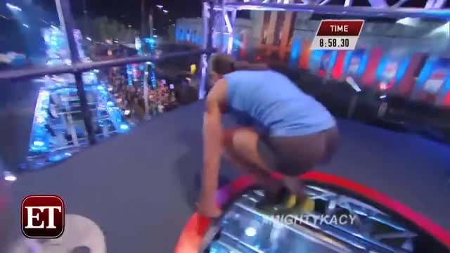 The First Woman Ever To Complete 'American Ninja Warrior' Absolutely Crushes It