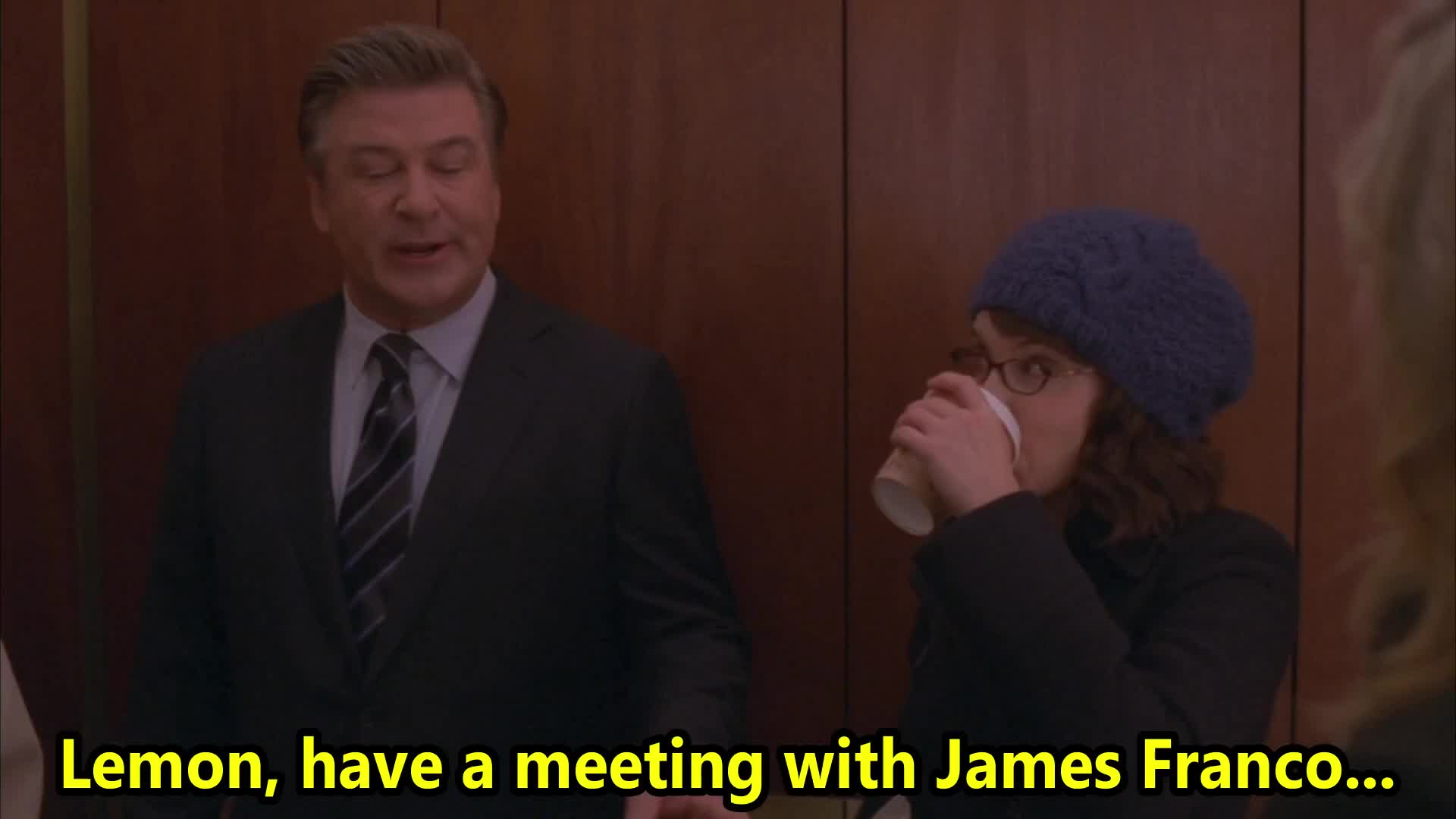 30 rock, alec, baldwin, donaghy, fey, jack, jane, jenna, klaus and greta, krakowski, late, lemon, liz, manager, maroney, s04e09, screw, tina, too, TOO LATE! GIFs