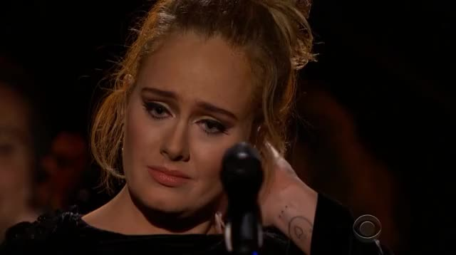 Watch and share Grammys GIFs and Adele GIFs by Vera Yuan on Gfycat