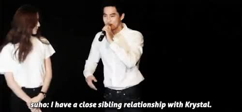 Watch constellation GIF on Gfycat. Discover more exo, exo k, f(x), gif, i'm down for this ship, krystal, they're so cute GIFs on Gfycat