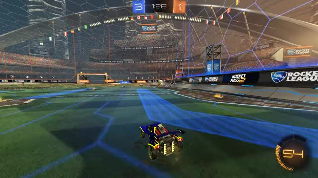 Watch and share Rocket League Bots Are OP GIFs on Gfycat