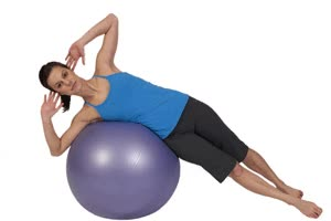 Watch and share Lumbares Y Abdominales Oblicuos Con Pelota Pilates GIFs on Gfycat