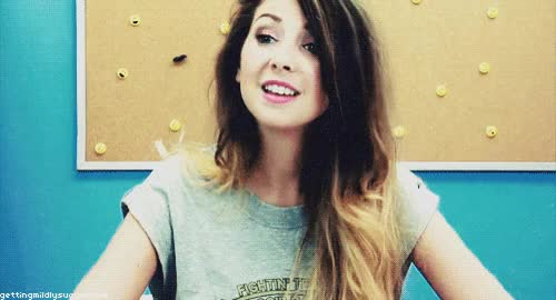 Watch zoella zoe sugg no GIF on Gfycat. Discover more related GIFs on Gfycat