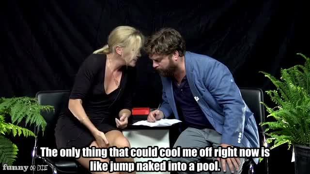 Watch this naked GIF by Funny Or Die (@funnyordie) on Gfycat. Discover more Between Two Ferns with Zach Galigianakis, Charlize Theron, FoD, funny or die, funnyordie GIFs on Gfycat
