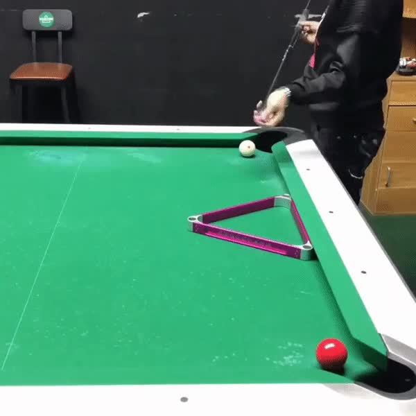 Watch and share Billiards Trick Shot GIFs on Gfycat