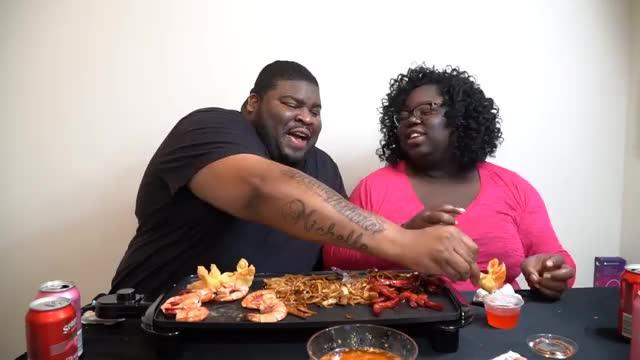 Watch CHINESE FOOD MUKBANG   EATING SHOW  GIF on Gfycat. Discover more ASMR, food, mukbang GIFs on Gfycat
