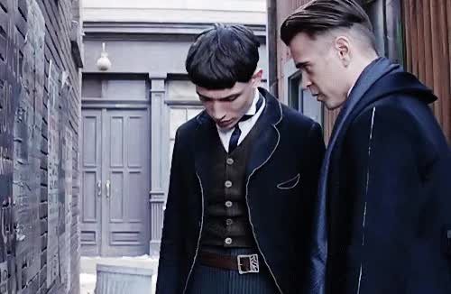 Watch and share Fantastic Beasts GIFs and Colin Farrell GIFs on Gfycat