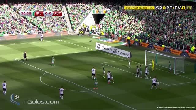 Watch and share (www.nGolos.com) Ireland 0-1 Austria - Hinteregger 31' GIFs on Gfycat