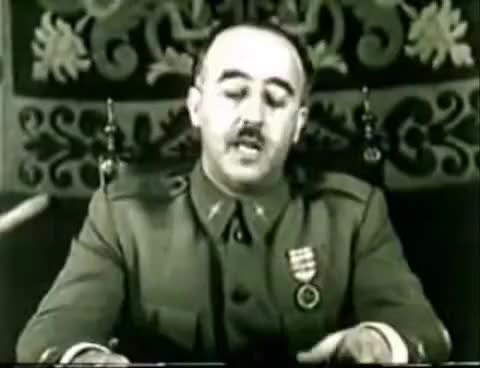 Watch and share Jefe Del Estado - General Francisco Franco GIFs on Gfycat