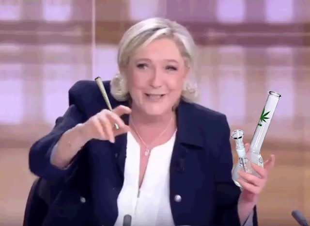 Watch and share Marine Le Pen GIFs and High GIFs on Gfycat