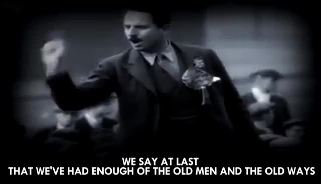 Watch and share Oswald Mosley: Europeans GIFs on Gfycat
