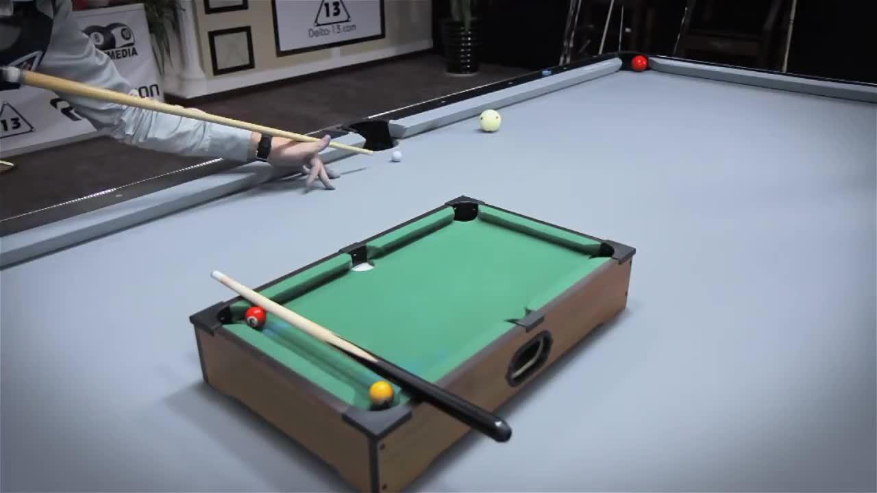 beamazed, Awesome hybrid pool trickshot [x-post /r/BeAmazed] (reddit) GIFs