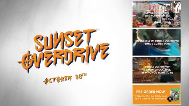 Watch Sunset Overdrive - Gameplay Launch Trailer GIF on Gfycat. Discover more Game, GamePlay, Gamespot, com, games, gaming, juego, launch GIFs on Gfycat