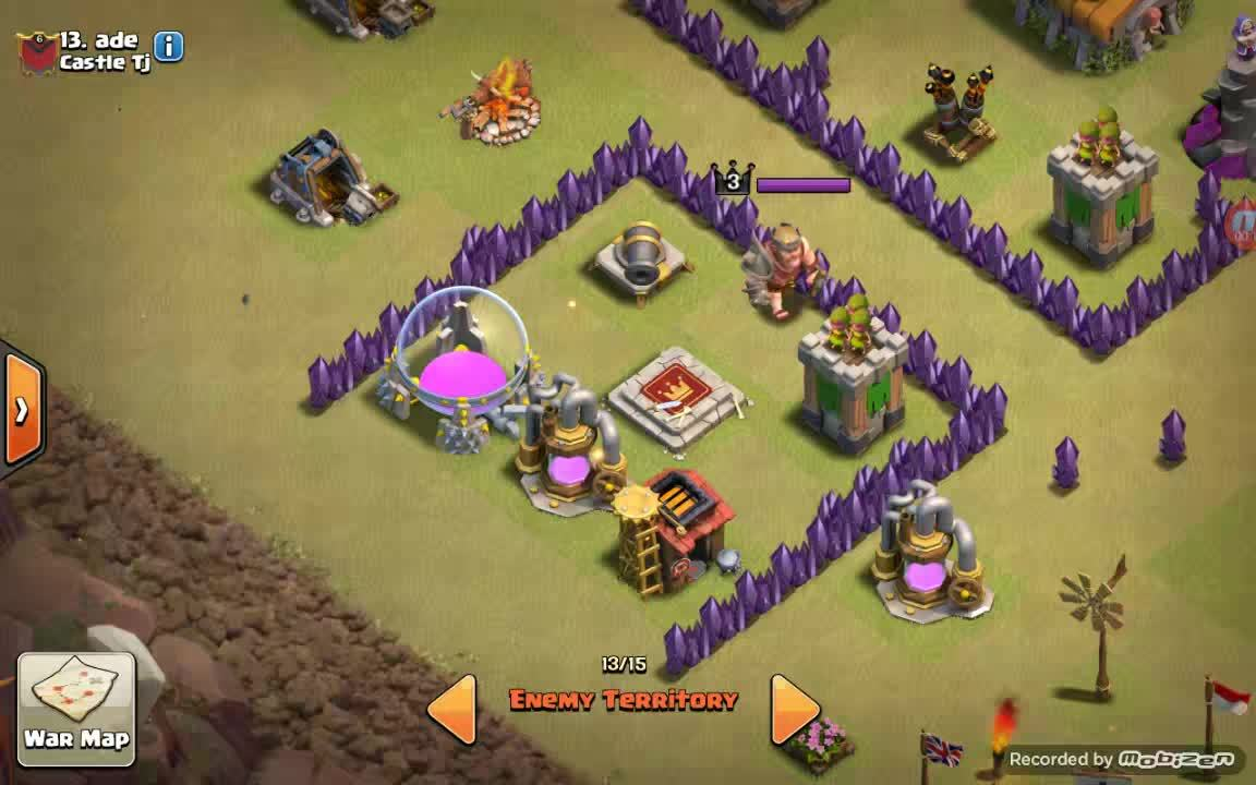 clashofclans, The jump king GIFs