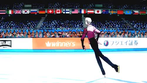 Watch and share Yuri On Ice GIFs on Gfycat
