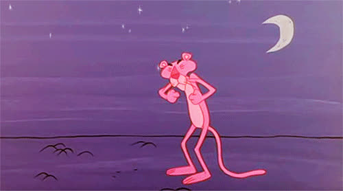 bed, bedtime, good, good night, night, panther, pink, sleepy, tired, yawn, Pink Panther - Good night GIFs