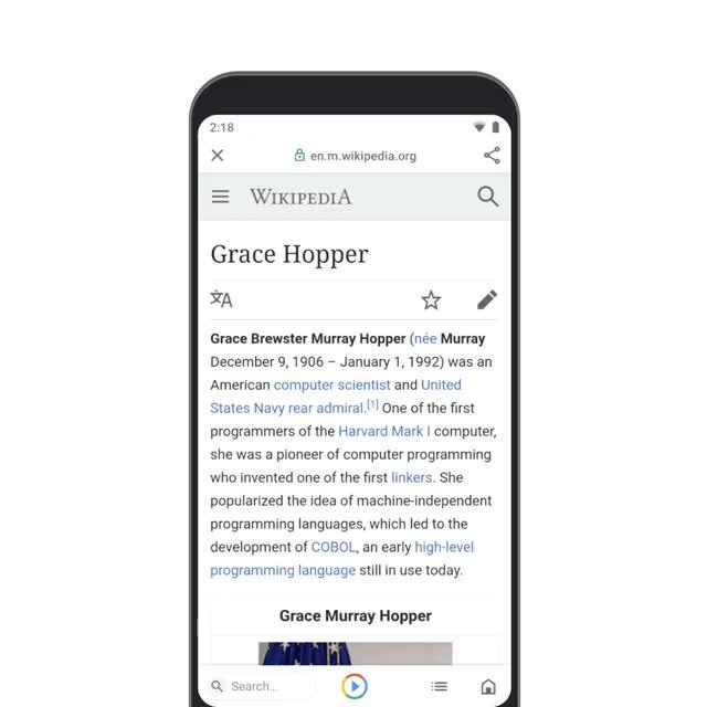 Watch and share Global Launch – Karaoke GraceHopper (Short) GIFs by -ovrik- on Gfycat