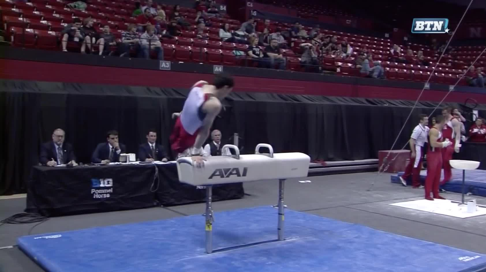 vault gymnastics gif. Gymnastics, Michael Newburger\u0027s Pommel Horse GIFs Vault Gymnastics Gif