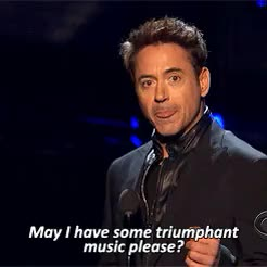Watch and share Not Even Gonna Lie GIFs and Robert Downey Jr GIFs on Gfycat
