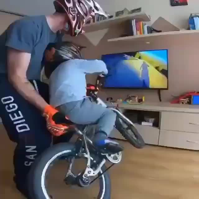 Watch and share Biking GIFs and Dad GIFs by PrviAxiom on Gfycat