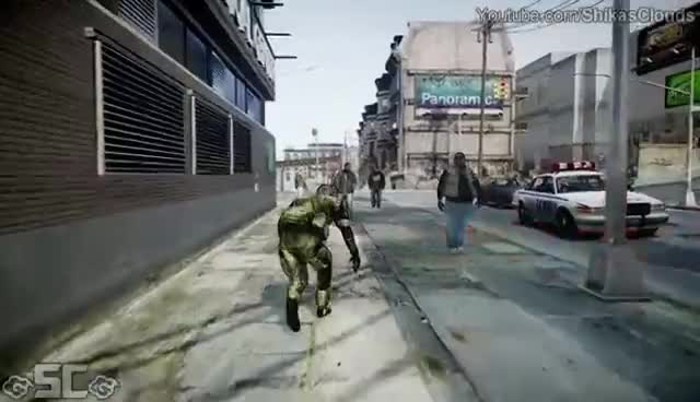 metal gear, big boss gta 4 GIFs