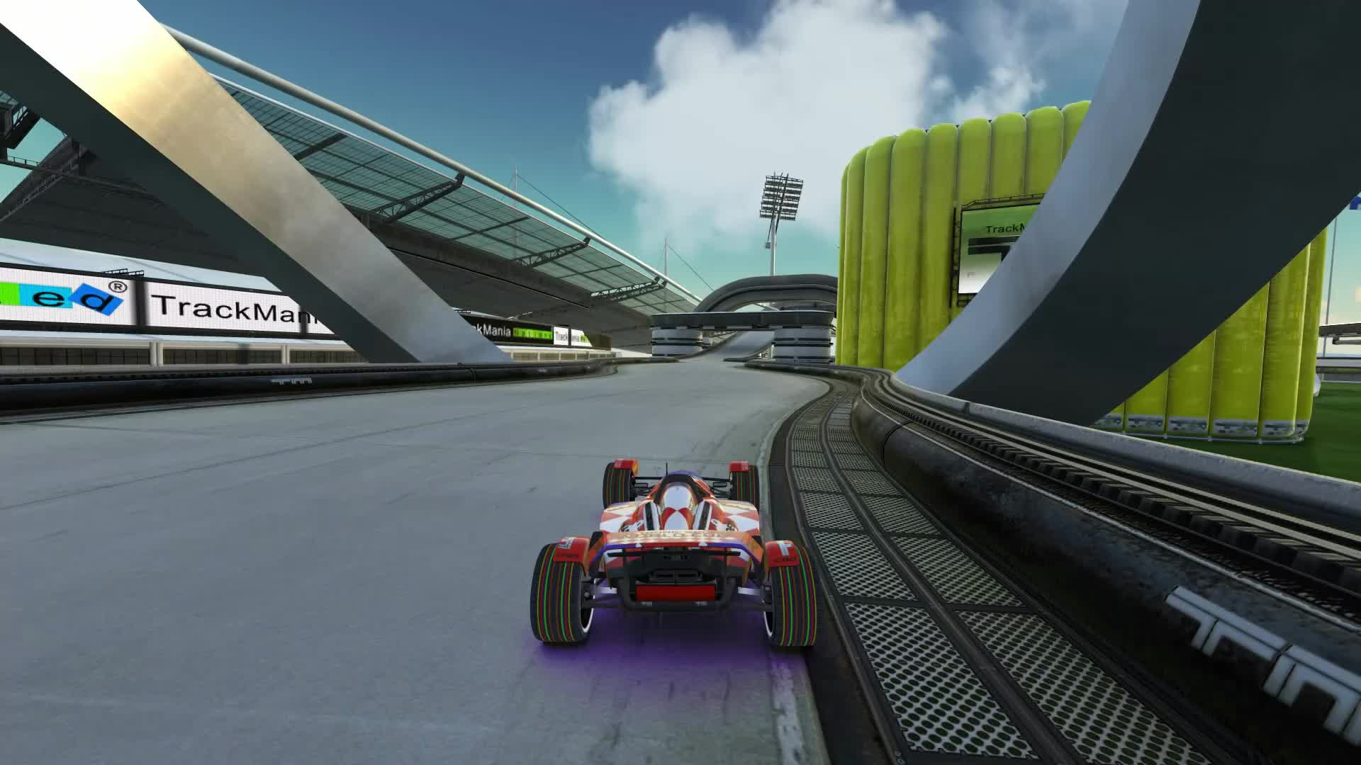 gamephysics, gaming, trackmania, TrackMania summed up in one gif GIFs