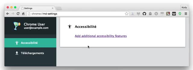 Watch and share New Chromium Settings Page GIFs by André Fernandes on Gfycat