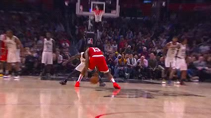 Watch and share James Harden — Houston Rockets GIFs by Off-Hand on Gfycat