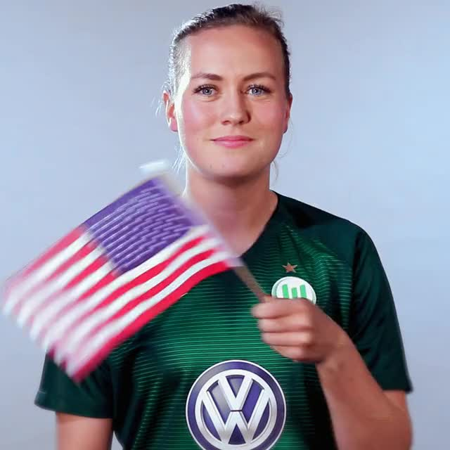 Watch and share 19 USA Flag GIFs by VfL Wolfsburg on Gfycat