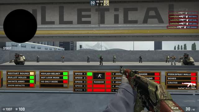 Watch and share CS:GO Landing Accuracy Comparison GIFs by lummytum on Gfycat