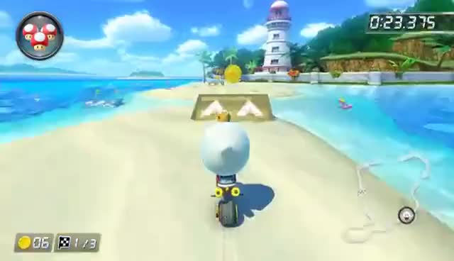 Watch and share King Boo Blowing A Kiss In Mario Kart 8 Deluxe GIFs on Gfycat