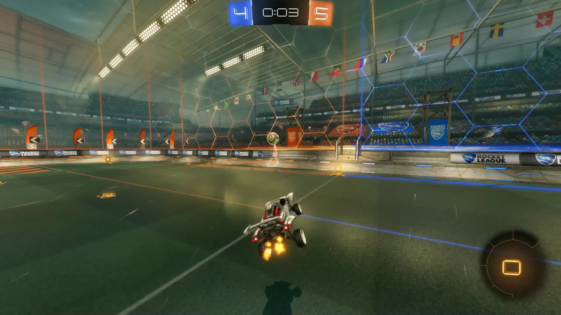 Gif Your Game, GifYourGame, Goal, Nagrola, Rocket League, RocketLeague, Equalizer Double GIFs