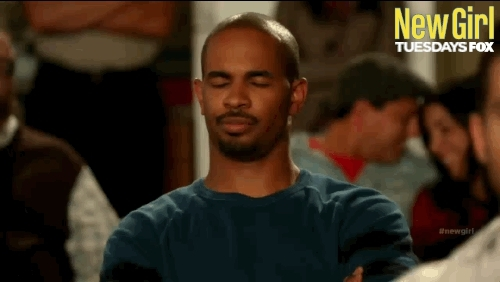 Damon Wayans Jr, do not want, new girl, no, no thanks, nope, No Thanks GIFs
