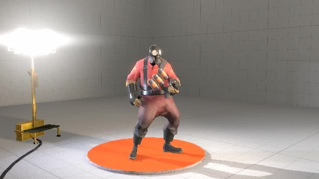 sfm, First blocking stage of a taunt that me and /u/RedMser are working on (spline mode for viewing pleasure) (reddit) GIFs