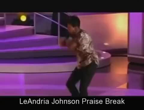 Watch LeAndria Johnson  Praise Break GIF on Gfycat. Discover more related GIFs on Gfycat