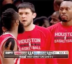 Watch belinda GIF on Gfycat. Discover more Clint Capela, HOU v LAC May 14 2015, Houston Rockets, James Harden, Kostas Papanikolaou, NBA, basketball GIFs on Gfycat