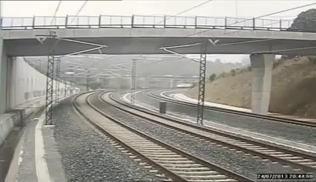 Watch and share Déraillement Du Train Espagnol (Saint-Jacques-de-Compostelle) GIFs on Gfycat