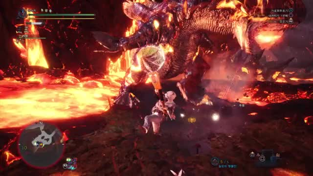 Watch Monster Hunter: World_볼가노스_함정_해머 GIF on Gfycat. Discover more PS4share, Gaming, Monster Hunter: World, Nugu MHW, PlayStation 4, Sony Interactive Entertainment GIFs on Gfycat