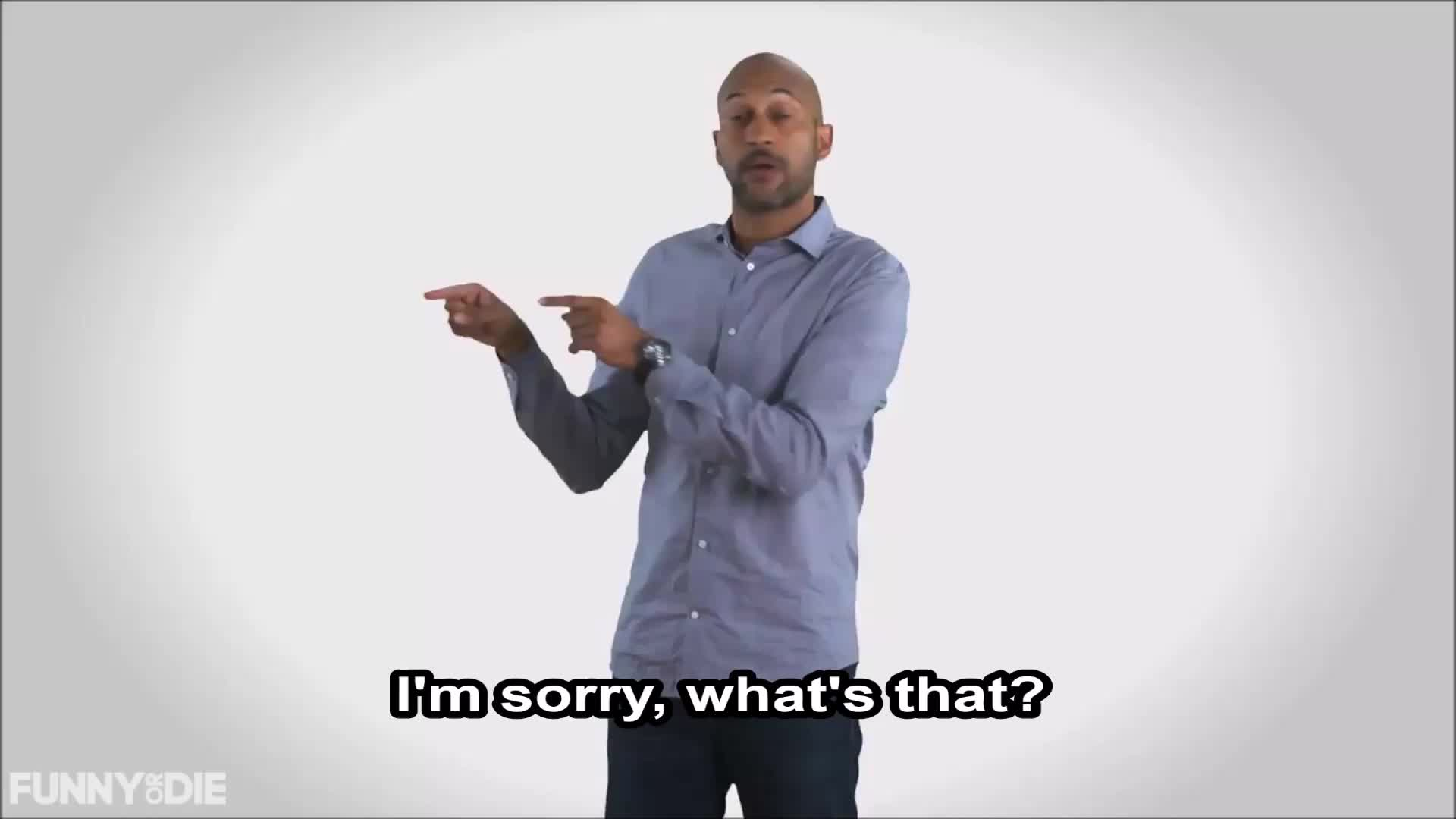 Funny or Die, Keegan Michael Key, Pennsylvania, election 2016, fod, key, vote, what, What's That? - Keegan Michael Key GIFs