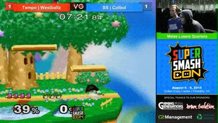 Watch and share Westballz With The Cleanest Double Dip To Mini Pop Off • R/smashgifs GIFs on Gfycat