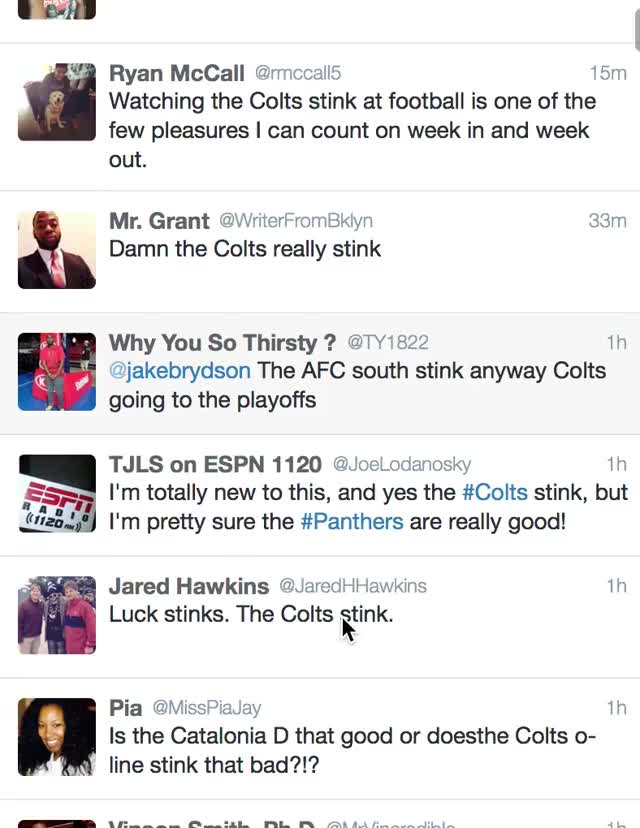 Watch and share Colts GIFs and Stink GIFs on Gfycat
