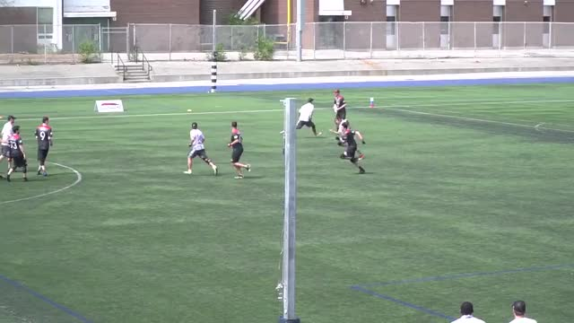 Watch Thomson McKnight Smooth Huck To Connor Armstrong — Week 8 GIF by American Ultimate Disc League (@audl) on Gfycat. Discover more american ultimate disc league, audl, highlights, ottawa outlaws, toronto rush, ultimate frisbee GIFs on Gfycat